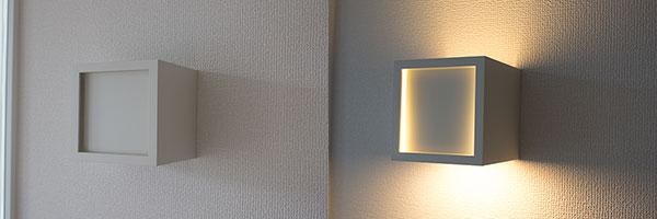 階段の間接照明