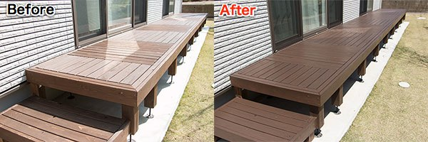 Wdeck before after